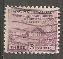 USA. Scott # 727,29,32,36-37 Used. Commemorative Issue. 1933-34 - Oblitérés