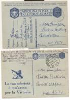2459-N° 2 FRANCHIGIE 2° GUERRA-P.M. 102-RUSSIA-1941-1942 - Marcofilía