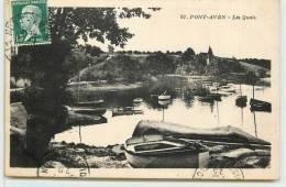 PONT AVEN  -  Les Quais. - Pont Aven