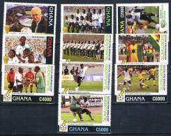 Soccer Fussball Football Ghana #3829/38  2006 World Cup In Germany MNH ** - World Cup