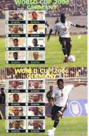 Soccer Fussball Football Ghana 2 KB 3839/46+3847/54  2006 World Cup In Germany MNH ** - World Cup