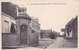 CPA 59 NEUVILLE EN FERRAIN ROUTE DE TOURCOING - France