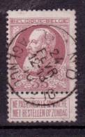 "N°77 Obl.  ""GAND/AGENCE N°10"" - 1905 Grosse Barbe"