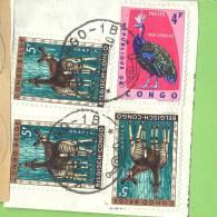 _D814  Fragment Met : KASONGO --1 - República Del Congo (1960-64)