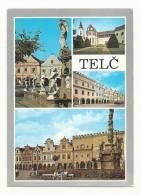 Cp, République Tchèque, Telc, Multi-Vues, Voyagée1991 - Cartes Postales