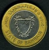 2000 Bahrain 100 Fils - Bahrein
