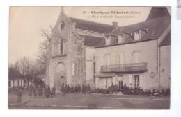 58 CHANTENAY SAINT IMBERT La Place Pendant La Grande Guerre  Soldats Repos - Ohne Zuordnung