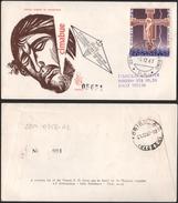 Fdc Venetia Rsm 1967 102sm Cimabue Raccomandata - FDC