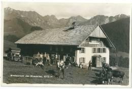 Cerniat - La Valsainte, Restaurant Des Mossettes, 1934, Animée Véhicules Anciens - FR Fribourg