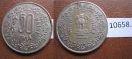 India 50 Paise 1984 B - Coins