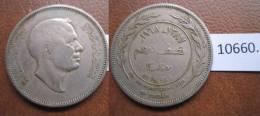 Jordania 50 Fils 1387 / 1968 - Monedas