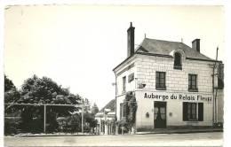 Belle CPSM Chisseaux-Chenonceaux (37) - Auberge Du Relais Fleuri - Photo Véritable - Autres Communes