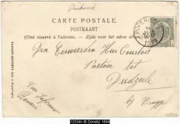 12534g GARE - LE COLLEGE - CALVAIRE - HOPITAL - POSTE - EGLISE - CH�TEAU - Poperinghe - 1906 - mosa�que