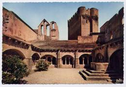 Francia, Environs D'Arles - Santino Cartolina Fustellato ABBAYE DE MONTMAJOUR, LE CLOITRE - PERFETTO E58 - Religion & Esotericism