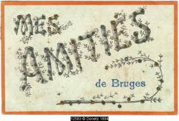 12583g AMITIES De BRUGES - 1907 - Paillettes - Brugge