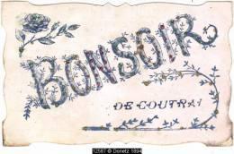 12587g BONSOIR De COURTRAI - Paillettes - Kortrijk