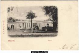 12675g INDES NEERLANDAISES - Batavia - Paleis - 1901 - Indonésie