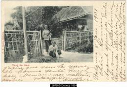12679g INDES NEERLANDAISES - Voor De Deur - 1901 - Indonésie