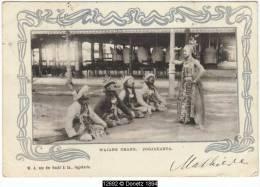 12692g INDES NEERLANDAISES - Wajan Orang - Jogjakarta - 1903 - Indonésie