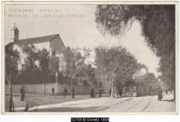 12758g GRÈCE - Avenue De La Reine Amelie - Locomotive à Vapeur - 1911 - Greece