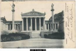 12807g ATHÈNES - L'Académie - 1906 - Grèce
