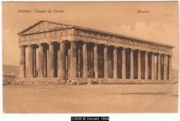 12808g ATHÈNES - Temple De Thesée - 1906 - Greece