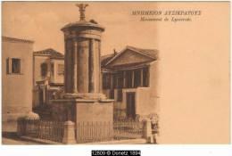 12809g ATHÈNES - Momument De Lysicrate - 1906 - Greece
