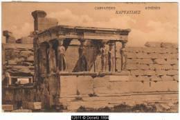 12811g ATHÈNES - Caryatides - 1906 - Grèce