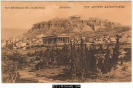 12812g ATHÈNES - L'Acropole - 1906 - Greece