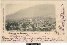 12817g BROUSSE - Panorama - 1899 - Turquie