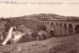 """LA CHAPELLE SOUS  DUN """" Viaduc Et Quartier De La Roche Du Gotbard"""" - Autres Communes"""