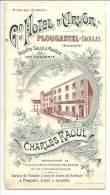 29 - Dépliant Grand Hôtel D´Arvor - Charles Raoul - Plougastel-Daoulas (Finistère) - Hotel Labels