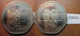 Papua Nueva Guinea 50 Toea  2007 , St John Ambulance - Monedas