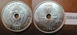 Laos 20 Centimos 1952 - Monedas
