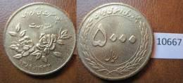 Iran 5000 Rials 1389 / 2010 - Otros – Asia