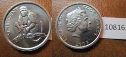 Cook , Islas De , 1 Centimo 2003 , Cook Islands - Monedas