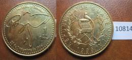 Guatemala 1 Quetzal 1999 - Monedas