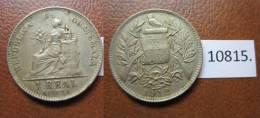 Guatemala 1 Real 1912 - Autres – Amérique