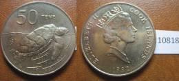 Cook , Islas De , 50 Tene 1992 , Cook Islands - Monedas