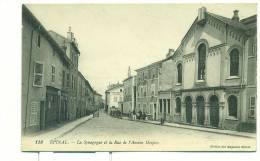 88/EPINAL LA SYNAGOGUE Et La Rue De L'Ancien Hospice (JUDAISME) - Epinal