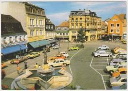 Homburg/Saar - Marktplatz:3x CITROËN 2CV, FORD TAUNUS,AUDI 100,RENAULT 4,VW KÄFER/COX,MERCEDES, BMW - Turismo