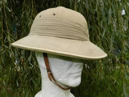 BEL ANCIEN  CASQUE COLONIAL FRANCE  39-45 -------- #.3 ----- - Headpieces, Headdresses
