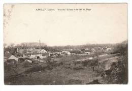 CPA - 45 - Loiret : Amilly : Vue Des Usines Et Le Bas Du Pays - Amilly