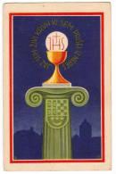 CHRISTIANITY II. EUCHARISTIC CONGRESS FOR JUGOSLAVIA OLD POSTCARD - Christianity