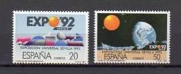 ESPAGNE     Neuf **     Y. Et T.   N°  2493 / 2494     Cote : 1,75  Euros - 1981-90 Ungebraucht