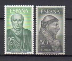ESPAGNE     Neuf **     Y. Et T.   PA N°  296 / 297     Cote : 5,00  Euros - Poste Aérienne