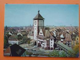 E1-Allemagne-freiburg-in-breeisgau-fribourg-la Porte Des Souabes--voitures-automobiles - Friedeburg
