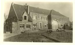 BURE GRUPONT PHOTO D EPOQUE DE 1948 TRES BELLE FERME OU DEMEURE DU VILLAGE  SUR LA RUE PRINCIPALE - La-Roche-en-Ardenne