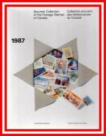 CANADA  Année 1987 Neufs ** MNH Dans Livret A4 De 46 Pages + Boitier. - Collections