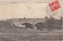 14 LA CAMBE Belle Vue Sur L'  AURE  Homme Sur Le PONT  En 1909 - Zonder Classificatie